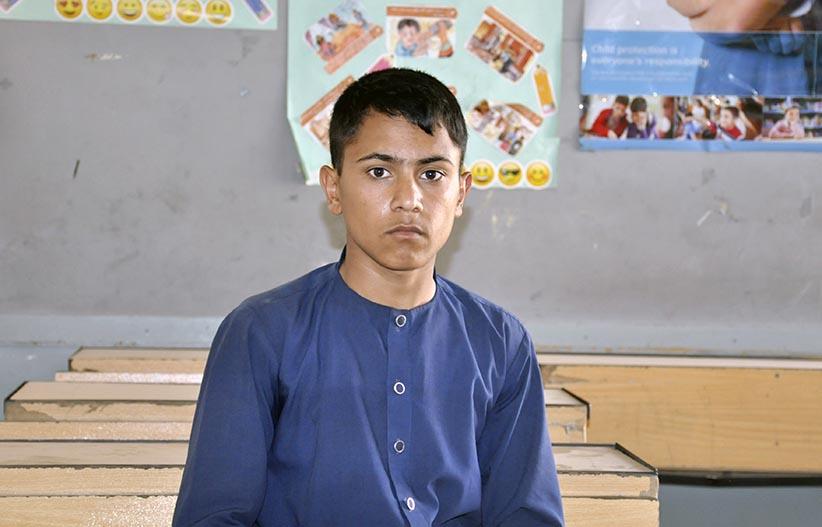 I want to become a cricketer like Rashid Khan